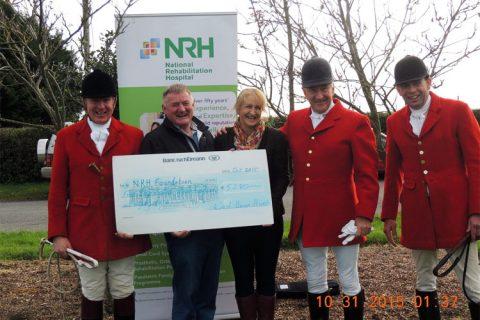 Cheque Presentation at the National Rehabilitation Hospital